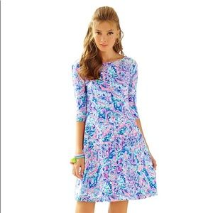 Lilly Pulitzer Celia Fit & Flare Dress size M NWTs